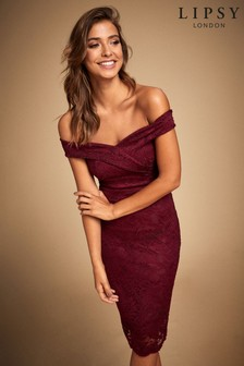 Lipsy Bardot Bodycon Dress