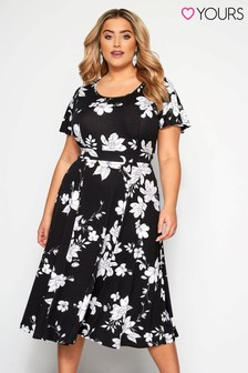 Yours Curve Floral Dress