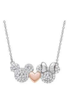 Peers Hardy Mickey & Minnie Adult Necklace