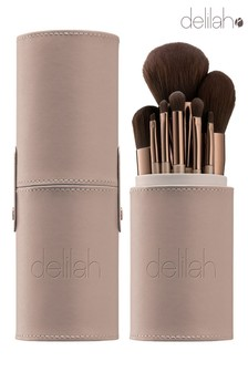 delilah 8 Piece Brush Collection Set (Worth £204)
