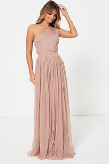 Anaya With Love One Shoulder Maxi Dress