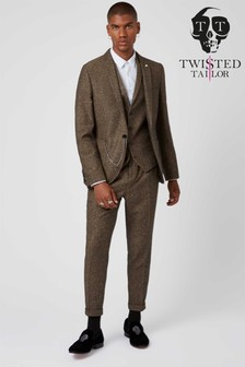 Twisted Tailor Snowdon Tweed Suit Trouser