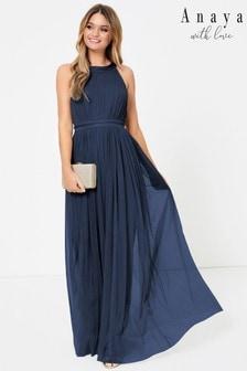 Anaya With Love Halter Maxi Dress