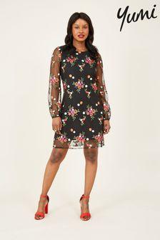 Yumi Floral 'Cydney' Tunic Dress