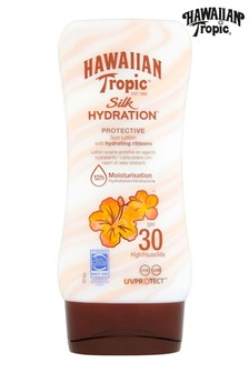 Hawaiian Tropic Silk Hydration Protective Sun Lotion with Hydrating Ribbons SPF 30 180ml