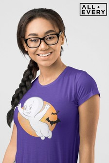 All + Every Casper The Friendly Ghost Halloween Women's T-Shirt
