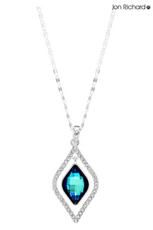 Jon Richard Blue Frame Necklace