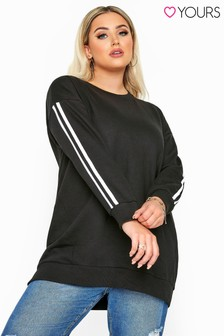 Yours Side Stripe T-shirt
