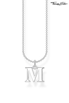 Thomas Sabo Letter Pendant And Chain