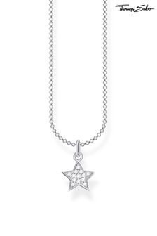 Thomas Sabo Star Pendant And Chain Necklace
