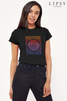 Instajunction Lipsy Happy Diwali Womens T-Shirt