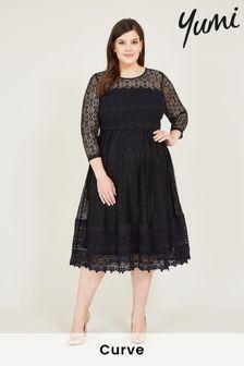 Yumi Lace Bonny Midi Dress
