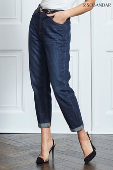 Sosandar Indigo Girlfriend Jeans