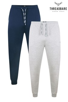 Threadbare 2 Pack Rudy Cotton Pyjama Trousers