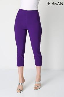 Roman Cropped Stretch Trouser