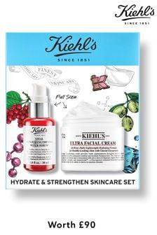 Kiehls Hydrate & Strengthen Skincare Set (worth £90)