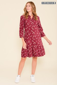 Brakeburn Berry Maria Cord Shirt Dress