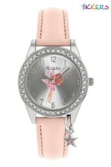 Tikkers PU Strap Charm & Dial Watch