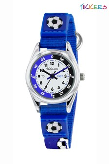 Tikkers Velcro Football Watch and Wallet Set