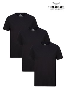 Threadbare Basic Crew T-Shirt 3 Pack
