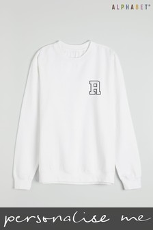 Personalised Kids Monogrammed Sweatshirt by Alphabet