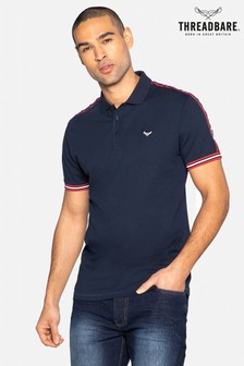 Threadbare Lexter Cotton Short Sleeve Polo Shirt