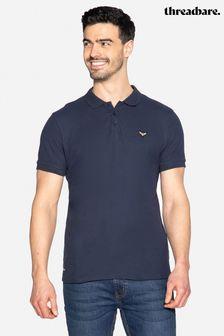 Threadbare Samson Cotton Pique Polo Shirt