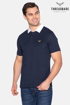 Threadbare Lomu Cotton Rugby Shirt