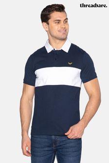 Threadbare Johnson Cotton Rugby Shirt