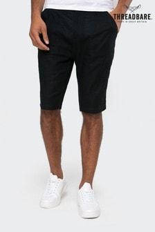 Threadbare Barry Linen Blend Chino Shorts