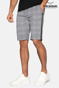 Threadbare Weymouth Checked Cotton Chino Shorts