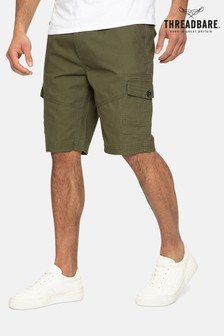 Threadbare Hydro Cotton Cargo Shorts