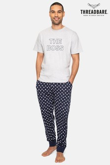 Threadbare Boss Cotton Pyjama Set