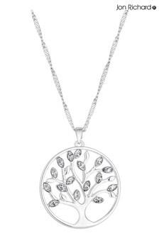Jon Richard Plated Tree Of Life Pendant Necklace