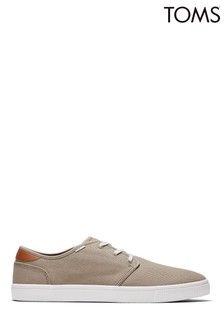 TOMS Carlo Oxford Tan Canvas Trainers