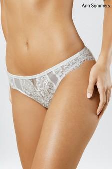 Ann Summers White Fiercely Sexy Brazilian Briefs