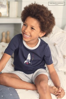 The White Company Rocket Embroidered Shortie Pyjamas
