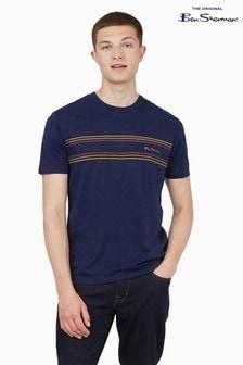 Ben Sherman Marine Chest Stripe Logo T-Shirt
