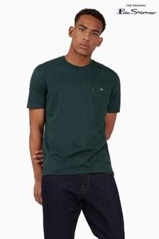 Ben Sherman Dark Green Signature Pocket T-Shirt