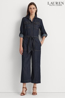Lauren Ralph Lauren Blue Rinse Zihna Jumpsuit