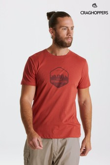 Craghoppers Red Mightie Short Sleeved T-Shirt