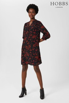 Hobbs Black Katarina Dress