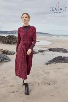 Seasalt Cornwall Pink 3/4 Carwynnen Dress
