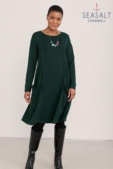 Seasalt Cornwall Green Heartfelt Dress