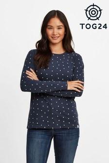 Tog24 Blue Zoe Womens Long Sleeve T-Shirt
