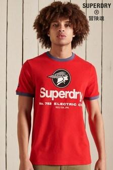 Superdry Core Logo American Classic Ringer T-Shirt