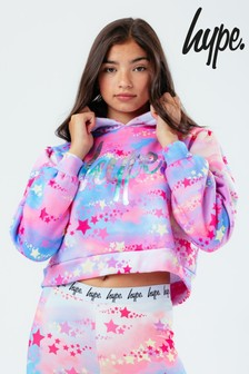 Hype. Pink Stargraphic Hoodie