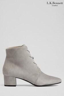 L.K.Bennett Grey Lola Lira Boots