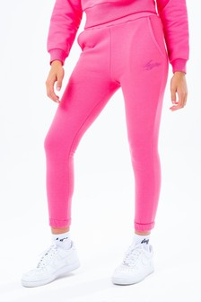 Hype. Pink Elasticated Joggers