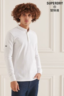 Superdry Studios Organic Cotton Pique Polo Shirt